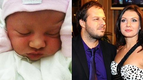 Xindl X a jeho manželka včera přivítali dceru Alici.