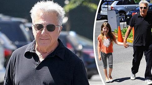 Dědeček Dustin Hoffman