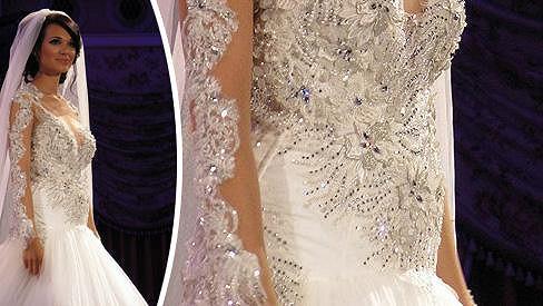 Gábina Dvořáková se dnes vdala. Měla na sobě tyto šaty?