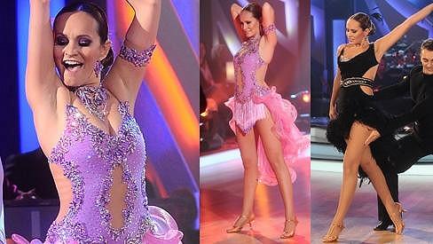 Monika Absolonová to v taneční soutěži uměla pořádně rozjet.