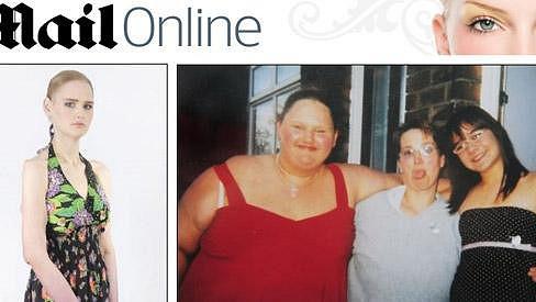 Malissa Jones dnes (vlevo) a uprostřed v červeném tílku v patnácti letech.