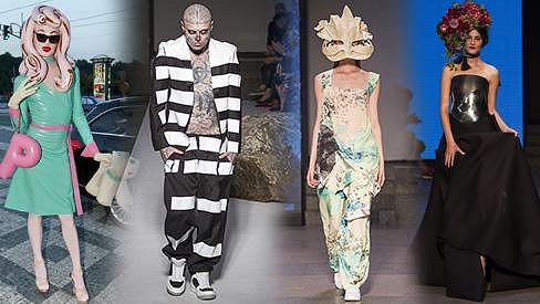 Divočina na Prague Fashion Weekendu