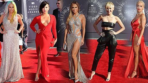Toto jsou největší módní skvosty na udílení cen pro nejlepší videoklip MTV.
