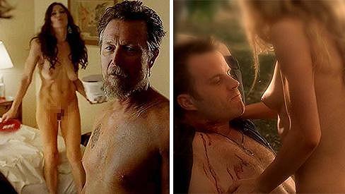 V seriálu True Blood se to jen hemží nahými scénami.