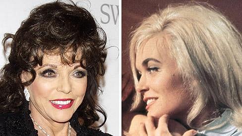 Joan Collins mohla být bondgirl, nahradila ji Shirley Eaton.