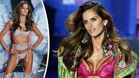 Brazilská modelka Izabel Goulart na své postavě tvrdě maká.