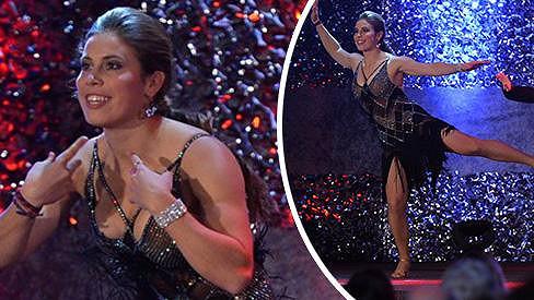 Eva Samková tančila skoro jako ve StarDance...