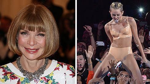 Miley Cyrus si to u Anny Wintour zavařila...