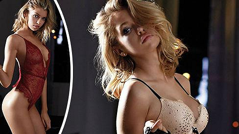Stella Maxwell pózuje v další žhavé kolekci spodního prádélka.