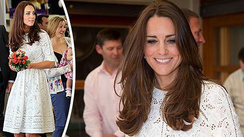 Kate tentokrát zvolila šaty od australské značky.
