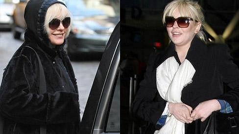 Debbie a Lindsay si jsou opravdu na těchto fotografiích celkem podobné.