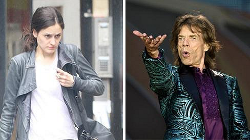 Mick Jagger a jeho nový objev