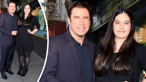 John Travolta s dcerou Ellou