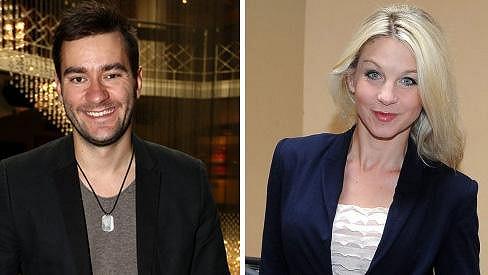 Marek Ztracený a Sabina Laurinová