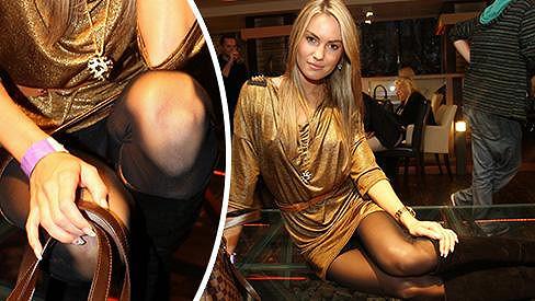 Veronika Fasterová provokovala na večírku VyVolených.