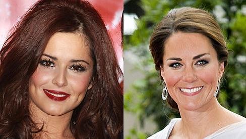 Cheryl Cole pochválila vnady vévodkyně Kate.