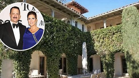 Tato nemovitost manželů Toma Hankse a Rity Wilson je na prodej.