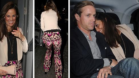 Pippa Middleton si ráda užívá nočního života.