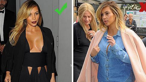Kim Kardashian a její módní úlovky