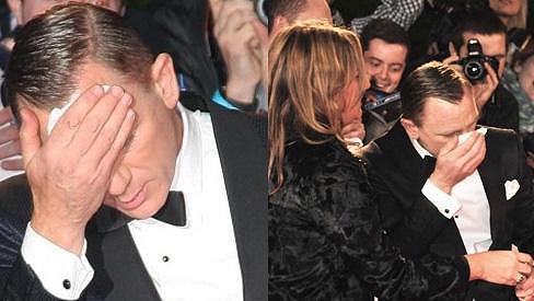Daniel Craig na premiéře Skyfall v Londýně.