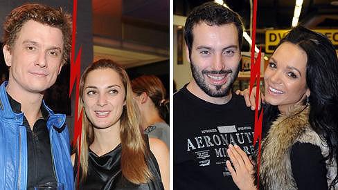 V roce 2013 se rozešli Tomáš Měcháček s Bárou Polákovou i Vašek Bárta s Gábinou Dvořákovou.