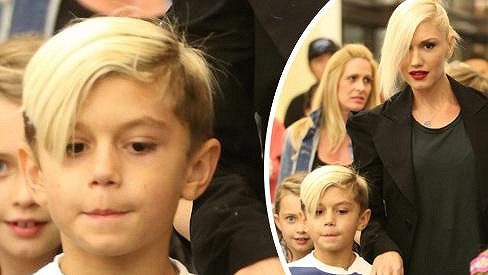 Gwen Stefani se synem Kingstonem