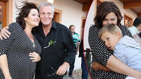 Ilona Csáková pořád tají pohlaví dítěte.