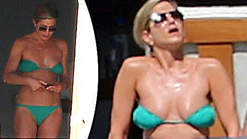 Jennifer Aniston přišla s novým způsobem nošení plavek.