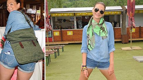 Tereza Zimová předvedla své dokonalé nožky v krátkých šortkách.
