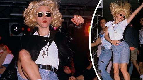 Madonna měla energie na rozdávání.