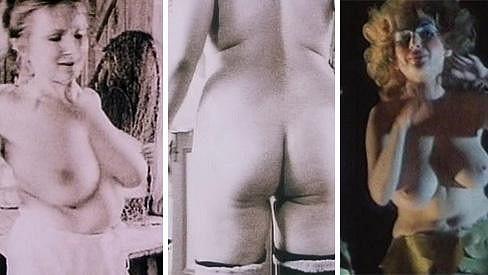 Edita Dindělová se za své tělo nikdy nestyděla.
