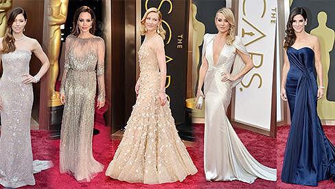 Tyto krásky oblékly na Oscarech ty nejkrásnější róby.