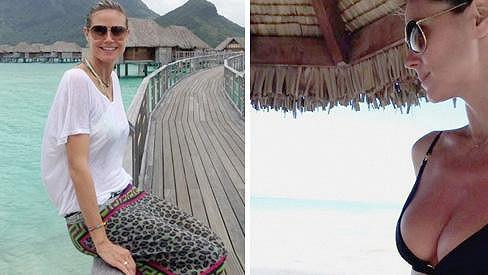 Heidi Klum se pochlubila dalšími snímky.
