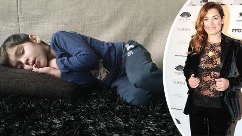 Alena Šeredová má nemocného syna.