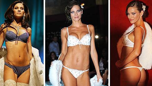 Andrea Verešová vypadá ve spodním prádélku fantasticky.
