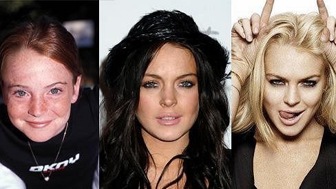Lindsay Lohan - od holčičky po rebelku.