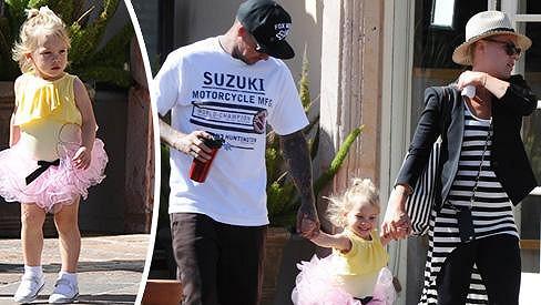 Pink dělá její krásná dcera Willow velkou radost.