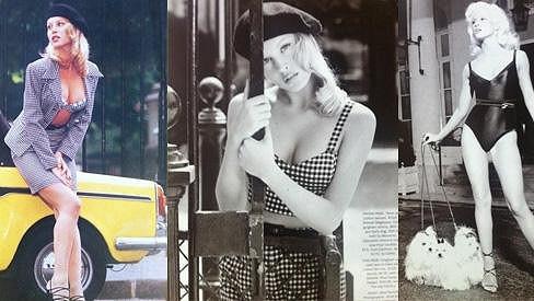 Simona Krainová byla vždy moc krásná.