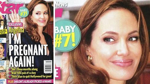 Angelina Jolie prý bude opět maminkou.