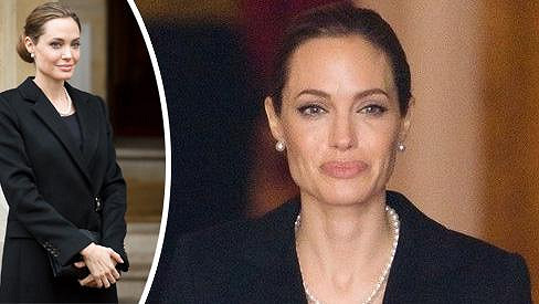 Angelina Jolie zavítala do Londýna na summit G8.