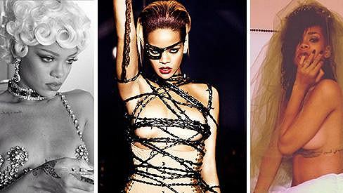 Rihanna si libuje v provokaci.