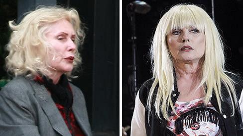 Dvě tváře zpěvačky Blondie...