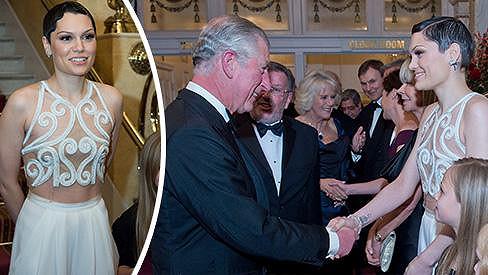 Jessie J s princem Charlesem