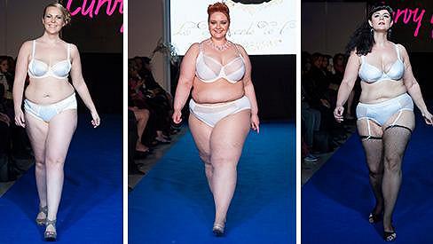 I ženy větších rozměrů mají právo na stylovou módu.