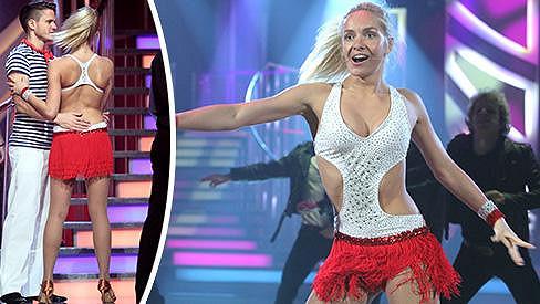 Taťána Kuchařová zářila v odvážném outfitu.