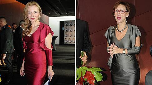 Martina Kociánová měla stejné šaty jako jedna z návštěvnic křtu.