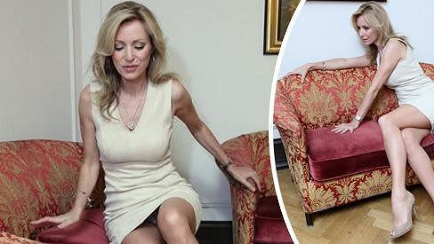 Kateřina Brožová a její sexy pózy.