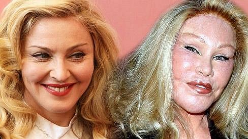 Madonna a Jocelyn Wildenstein.