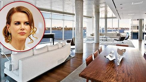 Nicole Kidman prodala svůj luxusní byt.