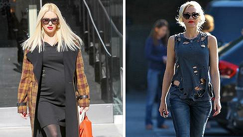 Takhle se Gwen Stefani zakulatila během necelých tří měsíců.